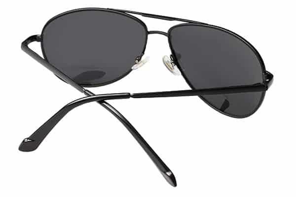 Lunettes aviateur noir