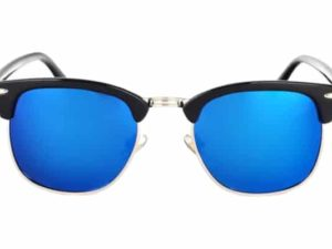 Lunettes classiques bleu
