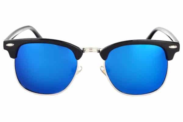 Lunettes classiques polarisées bleu