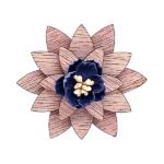 Marguerite bleu nuit