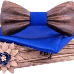 Python Marron foncé bleu saphir
